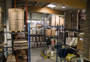 Schmaus GmbH logistics centre comprises office supplies, print products, promotional items and other consumables.
